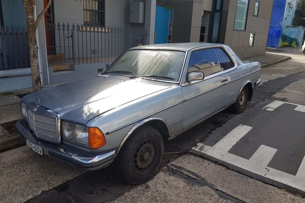 My old W123 280CE is for sale